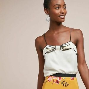 new Anthropologie Piped Cami